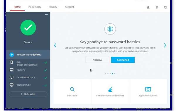 How to Change the McAfee True Key Master Password