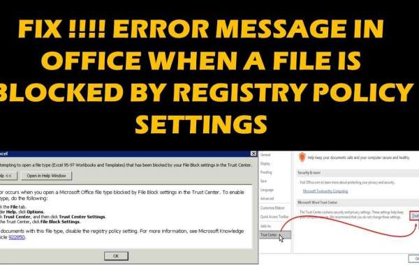"""Fix """"You Are Trying to Save the File That Has Been Blocked by Registry Policy Setting"""""""