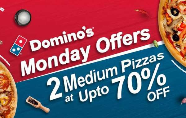 Dominos Monday Offers: Dominos 2 Medium Pizzas at Up to 70% Off