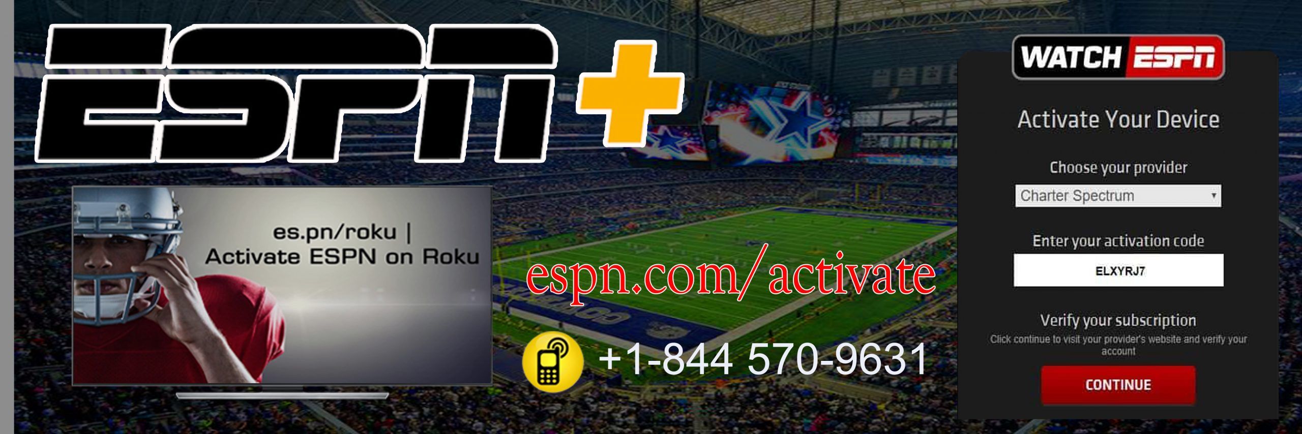 Espn.com/activate - Activate Espn And Espn plus On Roku And TV