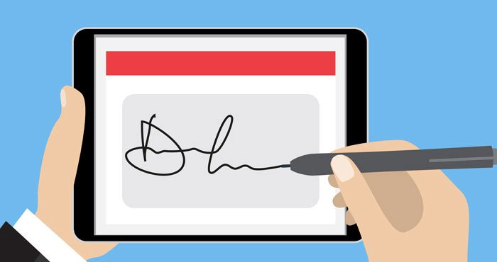 How To Scan And Digitally Sign A PDF Document With Your Smartphone?