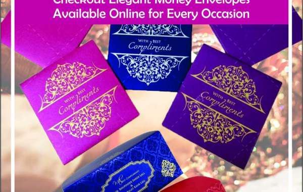 Indian Celebrations are Incomplete without the Mandatory Shagun! Checkout Elegant Money Envelopes Available Online