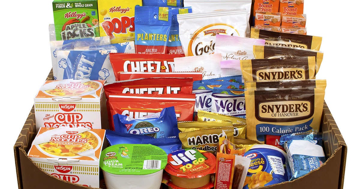How Snack Box Packaging Is Used For Different Products