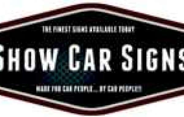 Represent Your Car in A Creative & Unique Manner at The Next Show