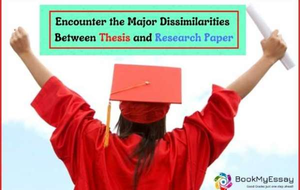 Encounter the Major Dissimilarities Between Thesis and Research Paper