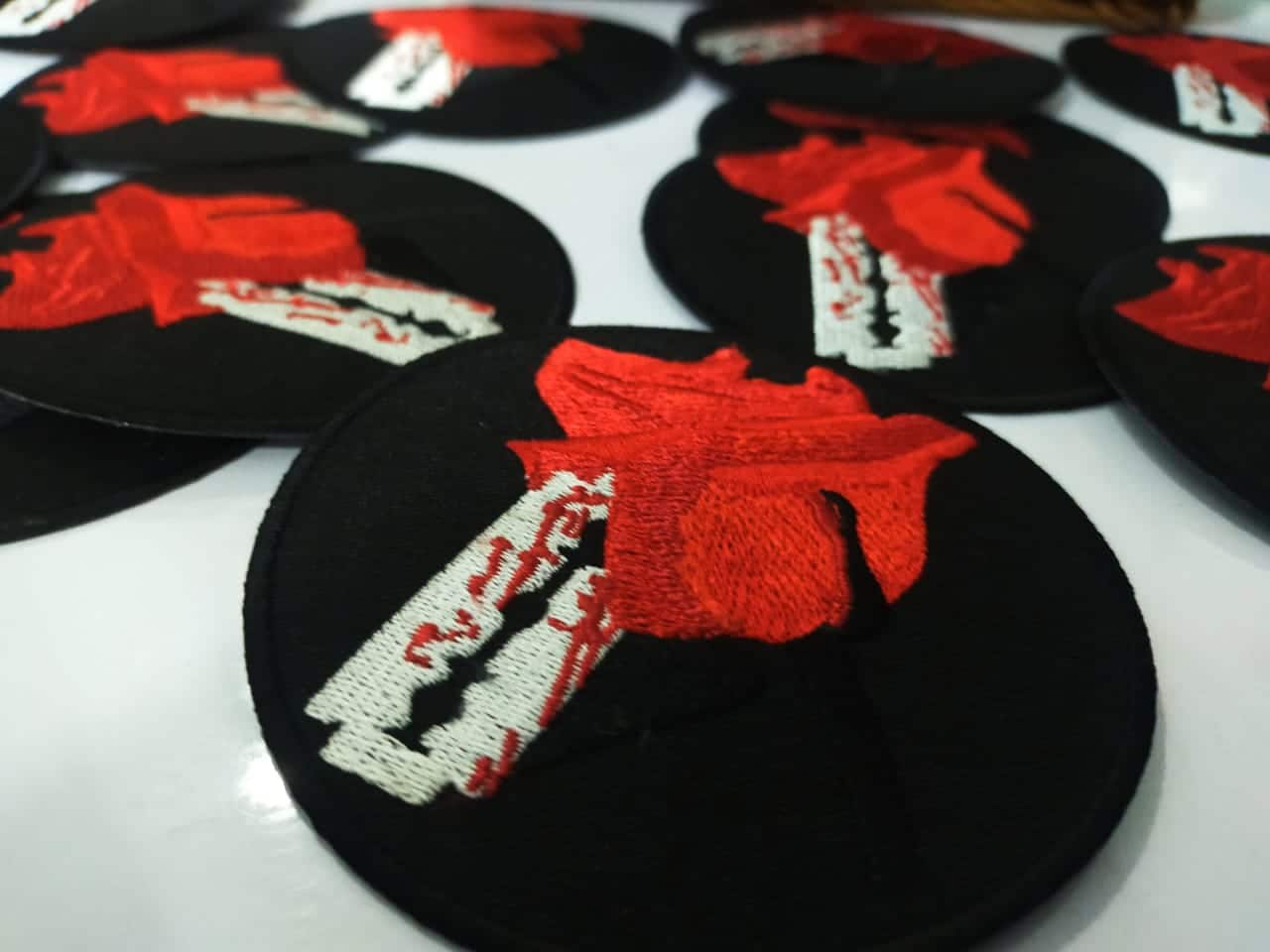 Custom-made Embroidered Patches