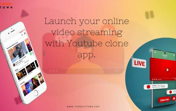 Launch your online video streaming with Youtube clone app.