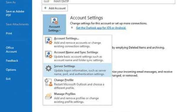How to manage the settings for an AOL Mail account?